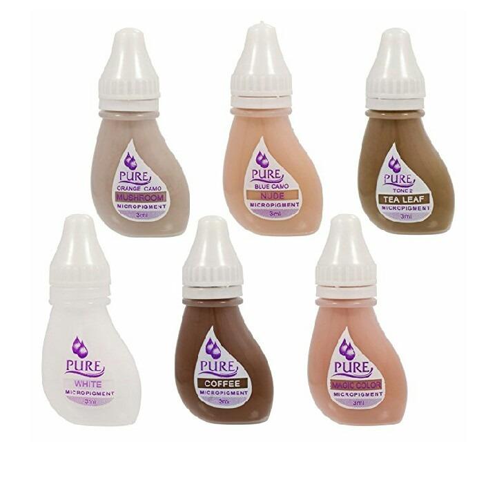 set de pigmentos microblading