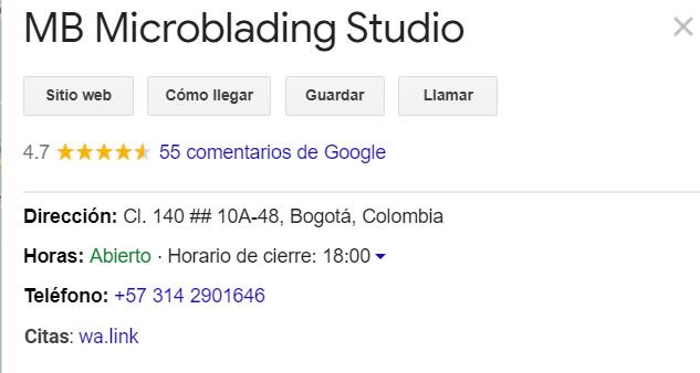 Microblading Bogotá