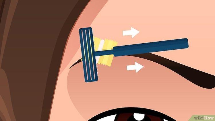 Cómo se hace la raya en la ceja